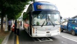 Autobuses Electricos  con Carga Inalambrica