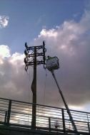 Endesa elimina la torre eléctrica de La Floresta tras 40 años