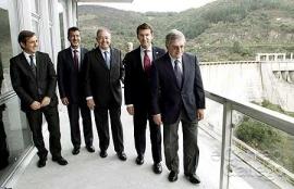 Inaugurada la nueva central hidroeléctrica del embalse de Belesar
