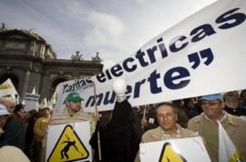 """Regantes de toda España se manifestarán el 26 de febrero contra el """"tarifazo"""" eléctrico"""