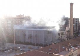 Jaén se que a oscuras por una filtración de agua en una subestación electrica