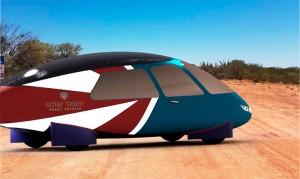 Presentado un coche familiar para competir en el desafío solar
