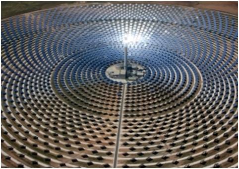 Una termosolar, sector por cuya paralización abogan las grandes eléctricas, premio europeo de innovación.