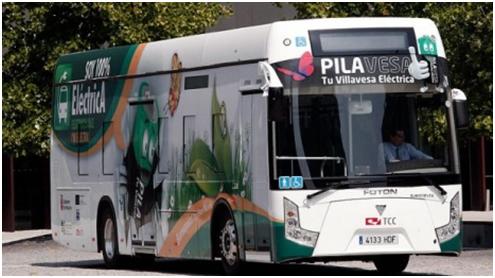 A los coches eléctricos les siguen los autobuses