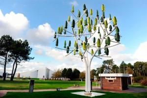 Turbinas en forma de árbol para generar energía